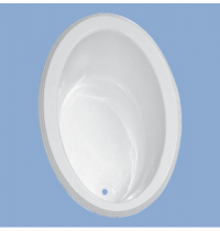 2205 Hollins 60 x 42 Oval Drop In Tub