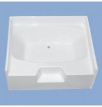 "2208 Ridgewood 54"" Garden Tub with Step"