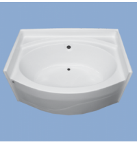 "2242 Hickory 60"" Oval Garden Tub"