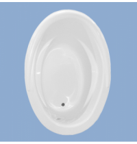2250 Frederick 59 x 41 Oval Drop In Tub