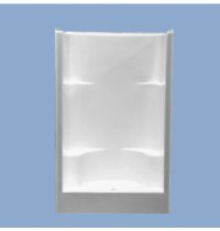 "3345 Keene 48"" Two Seat Shower"