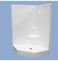 "3350 Dakota 48"" Neo-Angle Corner Shower"