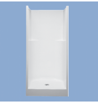 "33637 Greta 36"" One Piece Shower"