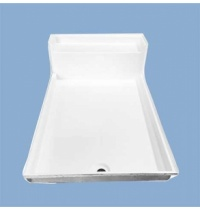 5128 Waco 48 x 72 Seated Shower Pan
