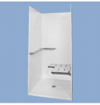 73838 Nick One Piece Barrier Free Shower