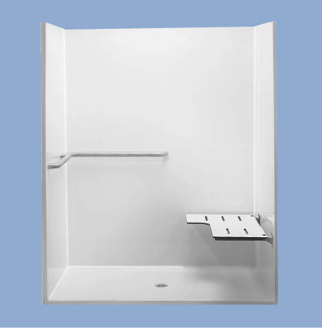 76438 Rob One Piece Barrier Free Shower