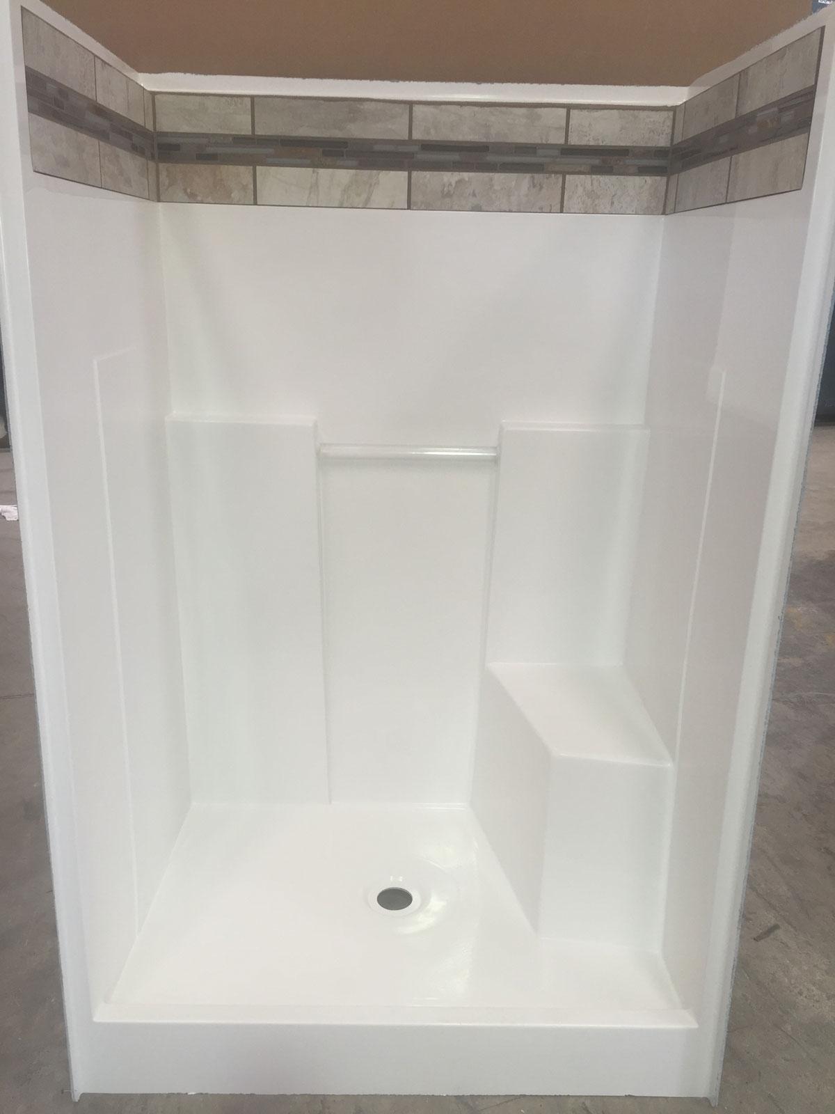 48r Hybrid 48 Quot One Piece Shower Baymont Bathware