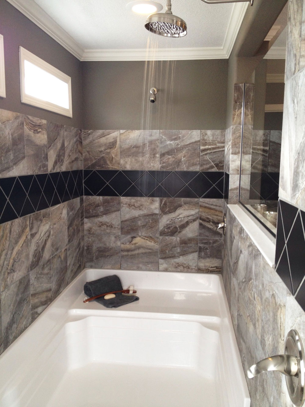 5196 Olivia Kate 48 X 96 Shower Pan Baymont Bathware